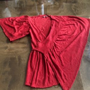 Anthropologie Moth M/L Kimono Light Sweater Shirt